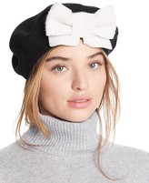 Helene Berman Beret with Bow
