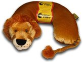 Critter Piller Kid's Neck Pillow, Lion