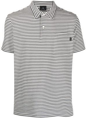 Paul Smith Stripe Polo Shirt