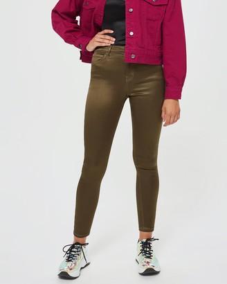 Topshop Sateen Jamie Jeans