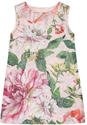 Dolce & Gabbana Floral cotton-blend dress