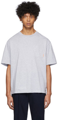 Acne Studios Grey Pocket Boxy Fit T-Shirt