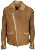 Giorgio Brato Zip Leather Jacket