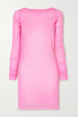Rick Owens Cotton-jersey T-shirt - Pink