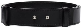 Ganni Metal Stud Belt