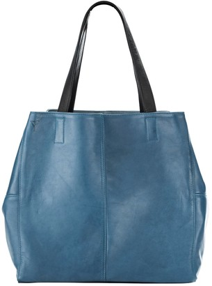 Taylor Yates Mary Tote In Petrol