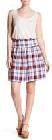 Joe Fresh Plaid Mini Skirt