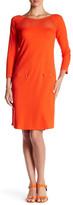 Joan Vass Zip Pocket Dress