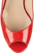 Nicholas Kirkwood Patent-leather peep-toe sandals