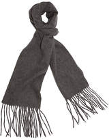 A & R Cashmere A&R Cashmere Cashmere-Blend Waterweave Scarf - Gray - a&R Cashmere - heather gray
