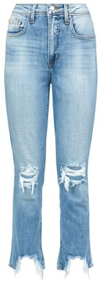 L'Agence High Line Distressed Jeans