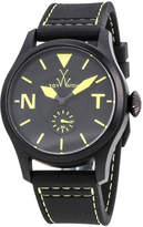 Toy Watch ToyWatch Toy To Fly Rubber Strap Watch, Black