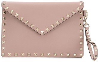 Valentino Rockstud medium flat pouch