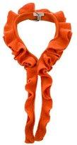 Burberry Ruffled Knit Collar