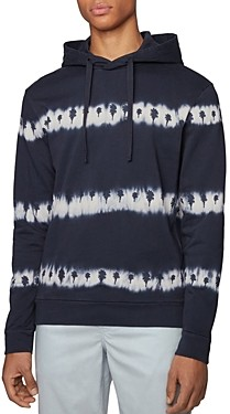 HUGO BOSS Cotton Tie Dyed Hoodie