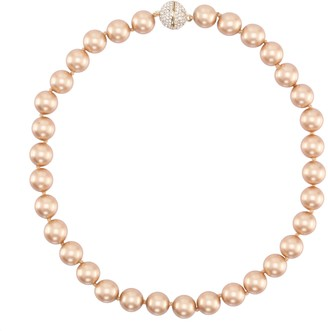 Nina Jewelry Pearl and Swarovski Crystal Necklace