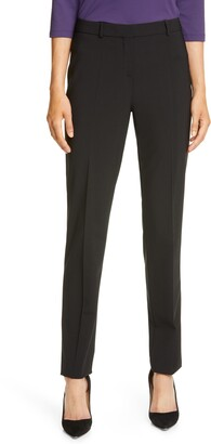 HUGO BOSS Tilunana Stretch Wool Suit Trousers