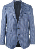 Caruso checked blazer - men - Cupro/Wool - 48