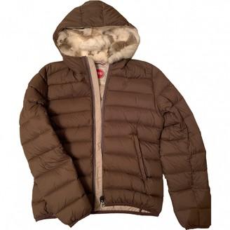 Colmar Brown Rabbit Jacket for Women