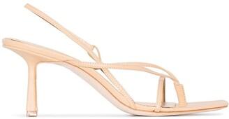 Studio Amelia 75mm Slingback Leather Sandals