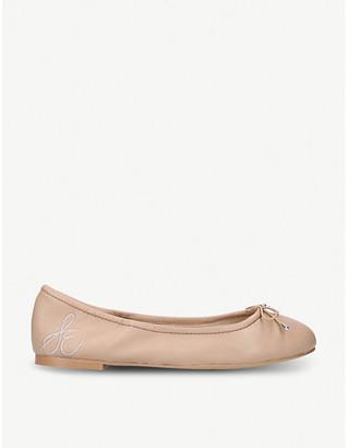 Sam Edelman Felicia bow-detail leather ballet flats