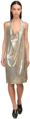 Bottega Veneta Mirrored Knit Jersey Knee-length Dress