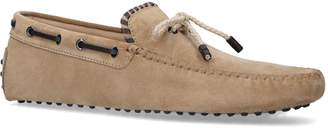 Tod's Suede Stitch Driving Shoes