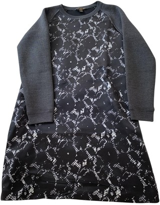 Louis Vuitton Grey Silk Dresses