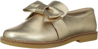 Elephantito Girls' Slip-in with Bow Oxford Flat