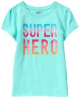 Crazy 8 Sparkle Super Hero Tee