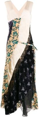 Chloé Multi-Panel Wrap Dress