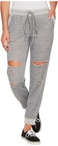 Culture Phit Robyn Drawstring Distressed Joggers Women's Casual Pants