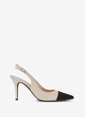 Mint Velvet Bea Cream Slingback Heels