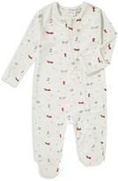 Angel Dear Unisex Fox Print Footie