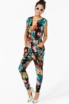 Nasty Gal In Bloom Jumpsuit