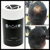 THE BEST RATED 100% Vegan + Natural Hair Loss Treatment for Men & Women - 100% Money-Back Guarantee, Hair Building Fibers, Concealer, prevention, Make Thinning Hair Thickener - Magikol® 2 Week Supply