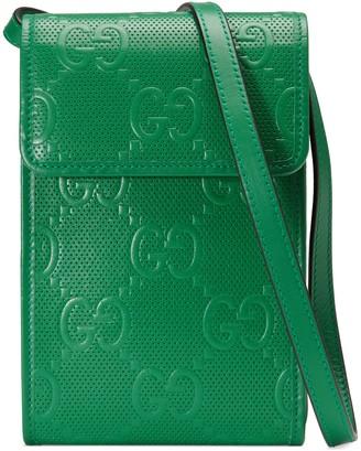 Gucci GG embossed mini bag