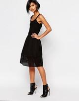 Vero Moda Mesh Midi Skirt
