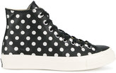 Converse Black Polka Dot All Star Hi 70's Trainers - men - Leather/rubber - 5