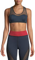 Michi Antigravity Printed Mesh Sports Bra