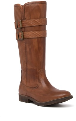 ROAN Date Leather Knee-High Boot