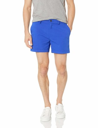 "Goodthreads Men's Slim-Fit 5"" Inseam Flat-Front Comfort Stretch Chino Shorts"