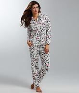 Kate Spade Flannel Pajama Set