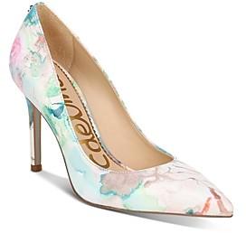 Sam Edelman Women's Hazel Pointed Toe High-Heel Pumps