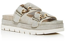 J/Slides Women's Baha Platform Slide Sandals
