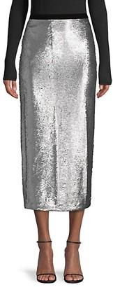 Cinq à Sept Paula Sequined Midi Skirt
