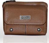 Buxton Westcott Leather Mini Clutch