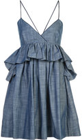 Piamita 'Alessandra' ruffled babydoll dress - women - Cotton - S