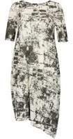 Dorothy Perkins Womens *Izabel London Monochrome Abstract Print Midi Dress