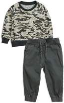 Sovereign Code Boys' Camo-Print Sweater & Joggers Set - Baby